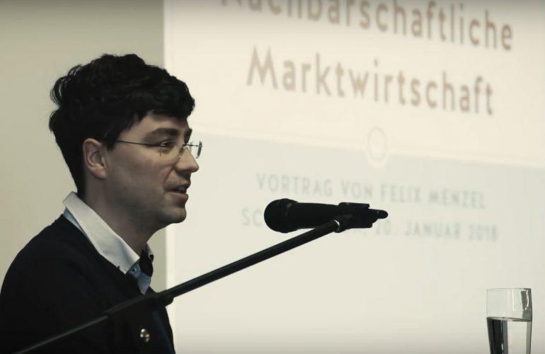 """Video: Vortrag """"Nachbarschaftliche Marktwirtschaft"""""""