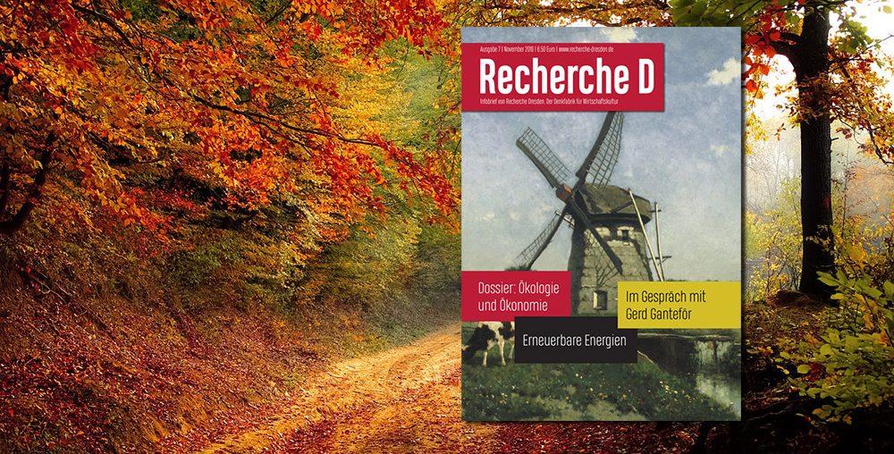 Vorschau Heft 7: Ökologie und Ökonomie